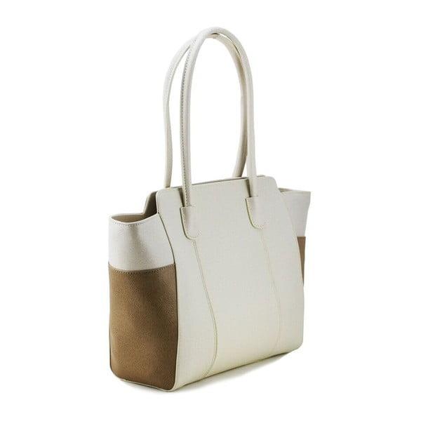 Kožená kabelka Cassidy Beige/Taupe