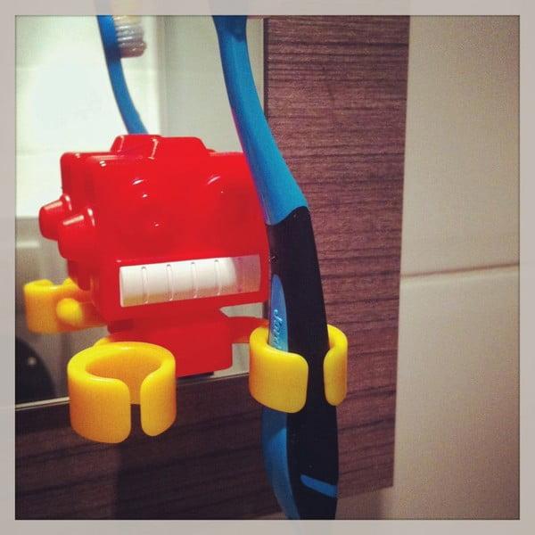 Držák na kartáčky na zuby Robot