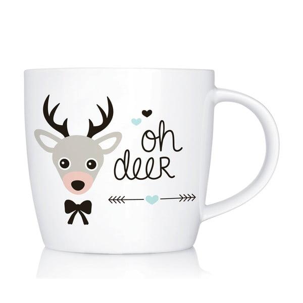 Porcelánový hrnek We Love Home Oh Deer, 300 ml