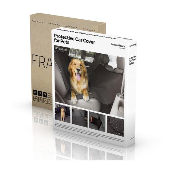 Înveliș protector de mașină pentru câine InnovaGoods, negru