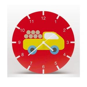 Lavmi nástěnné hodiny Bruno, červené