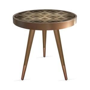 Příruční stolek Rassino Tile Circle, ⌀ 45 cm