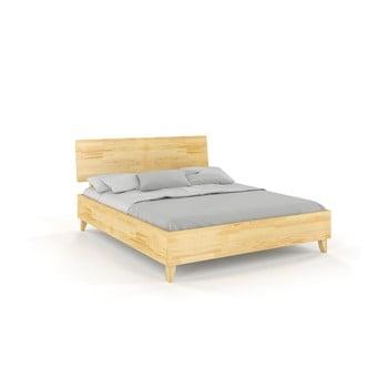 Pat dublu din lemn masiv de pin SKANDICA Viveca, 160 x 200 cm
