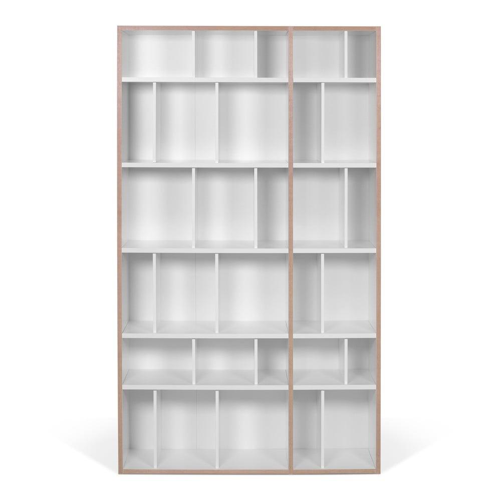 Bílá knihovna TemaHome, šířka108cm