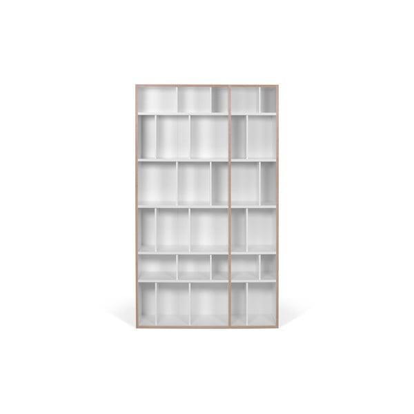 Bílá knihovna TemaHome, šířka 108 cm