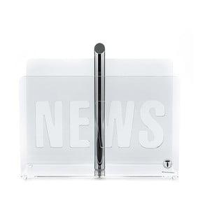 Stojan na časopisy Tomasucci News Transparent