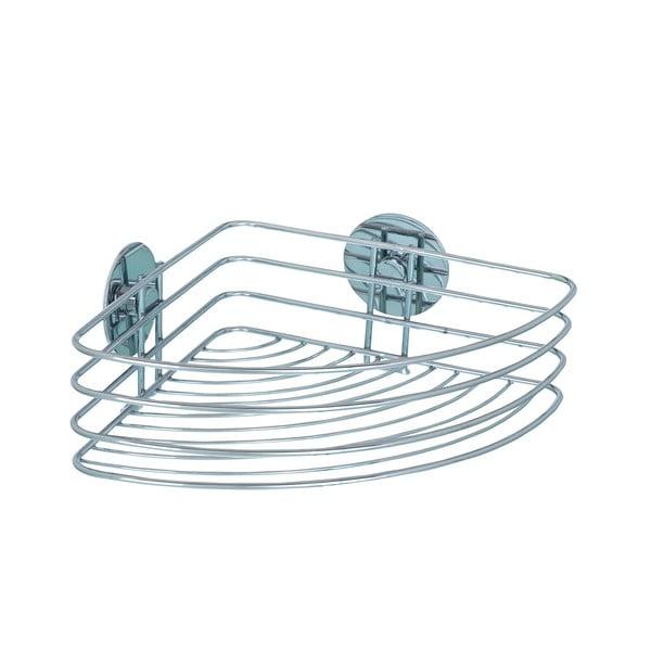 Samodržící rohová polička Wenko Turbo-Loc 26 cm, až 40 kg