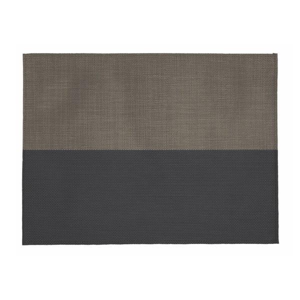 Béžovo-černé prostírání Tiseco Home Studio Stripe, 33x45cm