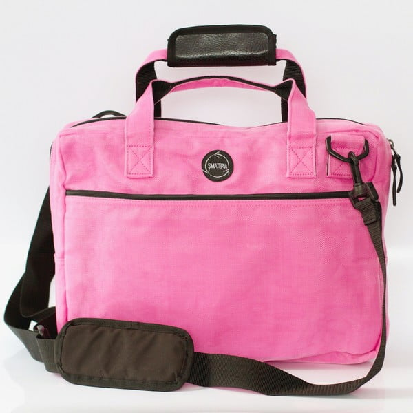 Taška na notebook Upload, růžová