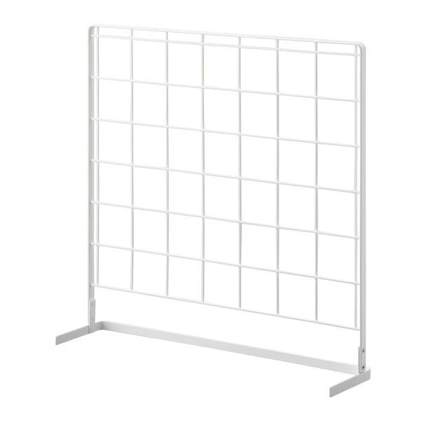 Suport/panou pentru accesorii de bucătărie YAMAZAKI Tower Grid, 52 x 52 cm, alb