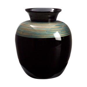 Váza Complement Black, 30 cm