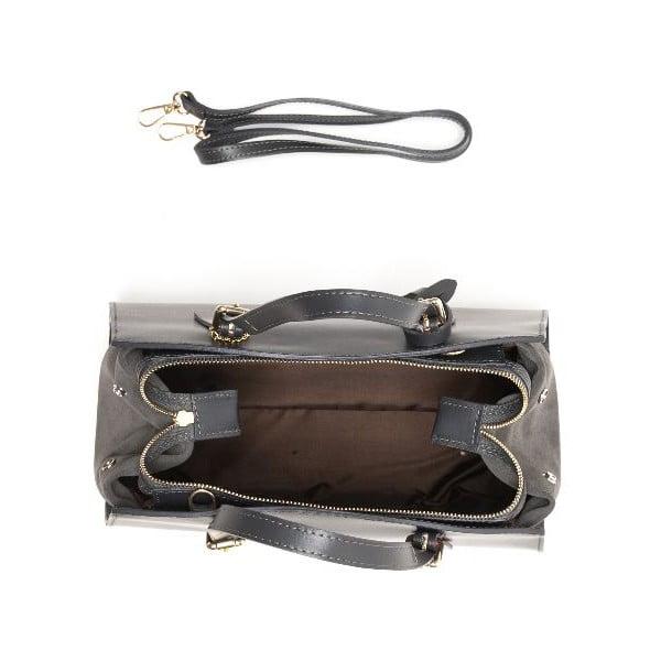 Kožená kabelka Renata Corsi 3003 Grigio