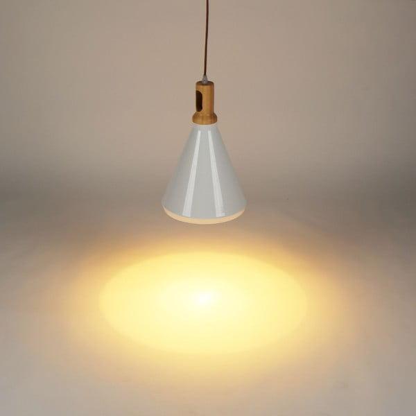 Závěsné světlo Asheer White