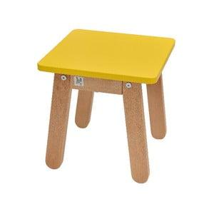 Žlutá dětská stolička BELLAMY Woody