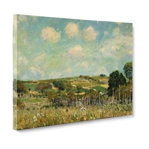 Obraz Meadow - Alfred Sisley, 50x70 cm