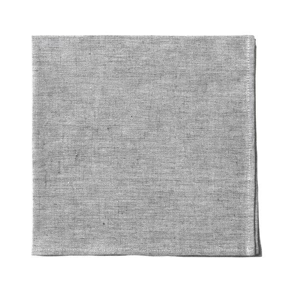 Sivý obrúsok Blomus, 42 x 42 cm