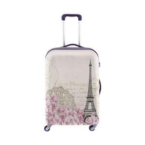 Obal na kufr s motivem romantické Paříže Oyo Concept, 76 x 49 cm