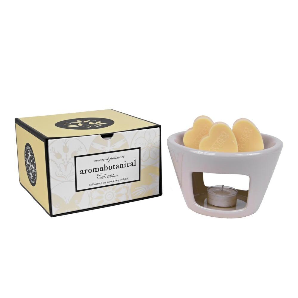 Aromalampa s vonnými vosky s vůní kokosu Ego Dekor Sweet Home, dobahoření30hodin