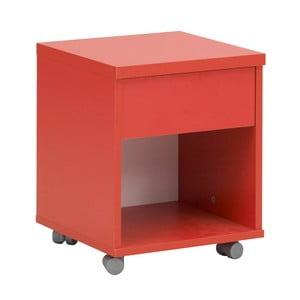 Červený noční stolek Gami Babel
