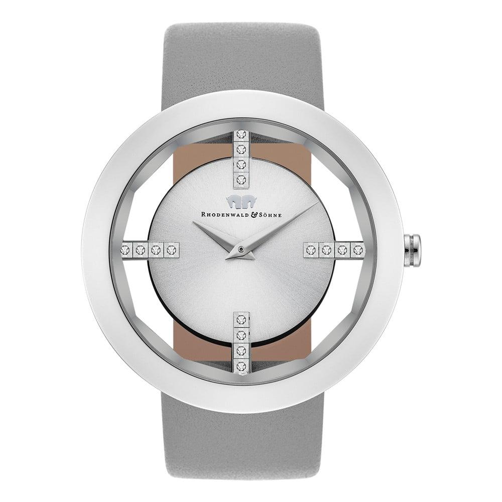 Šedé dámské hodinky Rhodenwald & Söhne Lucrezia