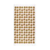 Oranžovobílý koberec Roomblush Fluff,80x140cm