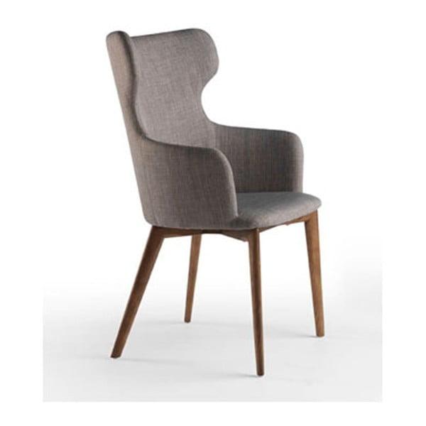Krzesło z nogami z drewna orzechowego Ángel Cerdá Fiastte