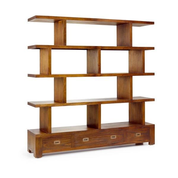 Knihovna ze dřeva mindi Moycor Star, výška 160 cm