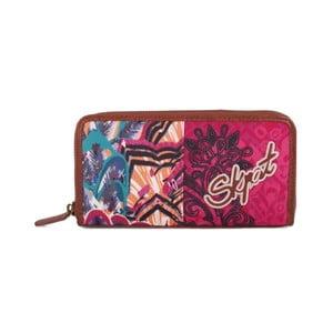 Pestrobarevná peněženka SKPA-T, 19 x 9,5 cm