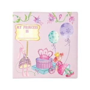 Sada čtyř obrázků do dětského pokoje My Princess