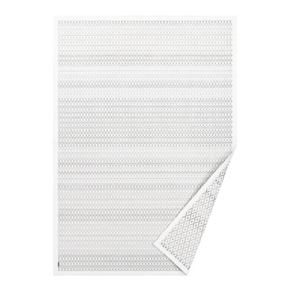 Tsirgu fehér, mintás kétoldalas szőnyeg, 230 x 160 cm - Narma