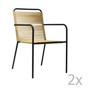 Sada 2 jídelních židlí Red Cartel Sumatra