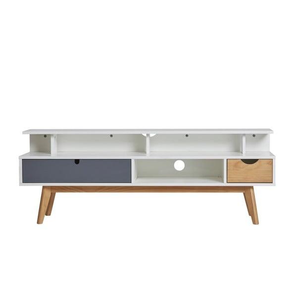 TV stolík s 2 zásuvkami Marckeric Cris