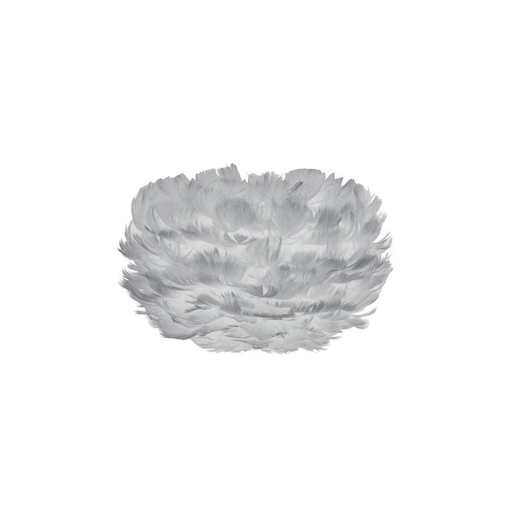 Šedé stínidlo z husího peří VITA Copenhagen EOS, Ø22cm