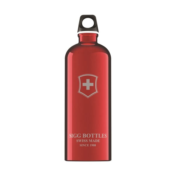 Lahev  WMB Swiss Emblem 1 l, red