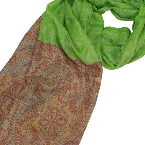 Vlněný šátek Shirin Sehan Lorena Grass