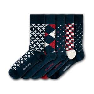 Sada 5 ponožek Black&Parker London Easton Gardens, velikost 37 – 43