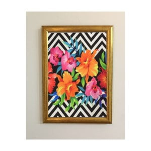 Obraz Piacenza Art Flower Zigzag,30x20cm