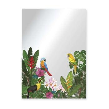 Oglindă Surdic Espejo Decorado Tropical Birds, 50 x 70 cm de la Surdic