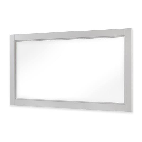 Bílé zrcadlo Dřevotvar Ella