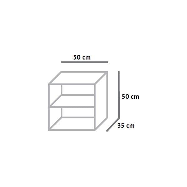 Skříňka s jednou zásuvkou Fam Fara, 50x50 cm