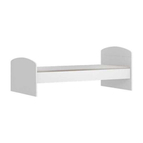 Białe łóżko dziecięce FAKTUM PopUp Mia, 160x80 cm
