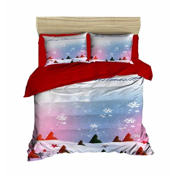 Robert karácsonyi, kétszemélyes ágyneműhuzat lepedővel, 200 x 220 cm