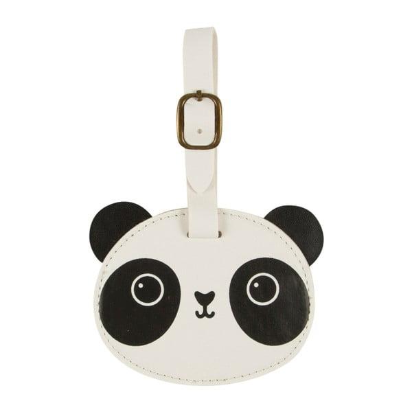 Aiko Panda Kawaii bőröndjelölő - Sass & Belle