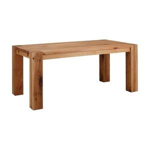 Jídelní stůl z masivního dubového dřeva Støraa Matrix, 90x160cm