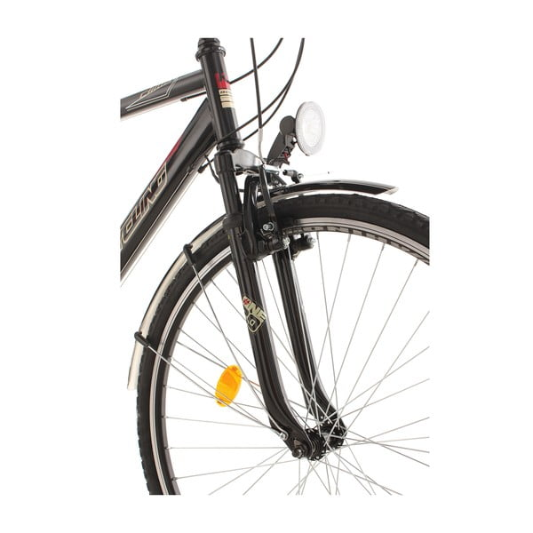 "Kolo City Cycling Black, 28"", výška rámu 53 cm"
