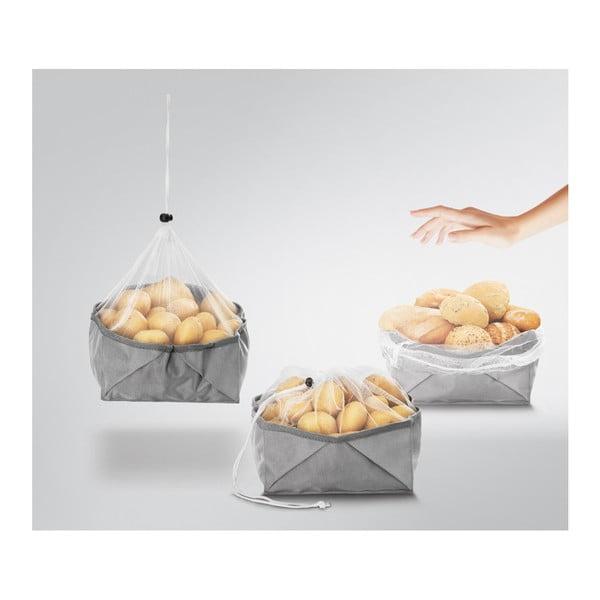 Skládací box na potraviny Metaltex, 23 x 23 cm