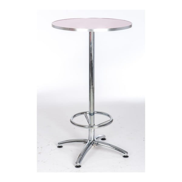 Stůl Coctail Pink, 60x60x106 cm