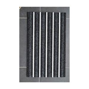 Černá rohožka Hanse Home Alu, 47 x 75 cm