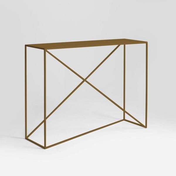 Memo aranyszínű konzolasztal - Custom Form