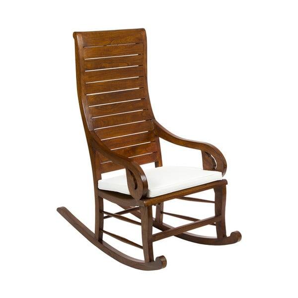 Fotel na biegunach z drewna tekowego Santiago Pons Anush